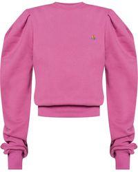 Vivienne Westwood Sweatshirt With Logo - Pink