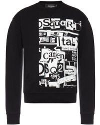 DSquared² Black Sweatshirt