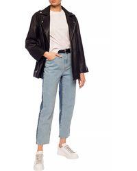 McQ High-waisted Jeans Blue