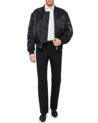 Balenciaga Loose-fitting Trousers Black
