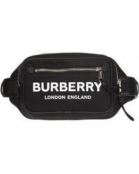 Burberry Branded Belt Bag - Black