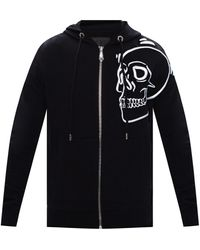 Philipp Plein Logo Hoodie - Black