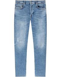AllSaints 'cigarette' Stonewashed Jeans - Blue