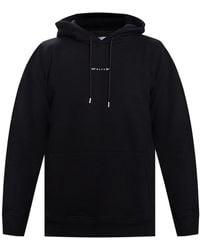 1017 ALYX 9SM Logo Hoodie - Black