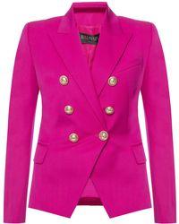 Balmain Double-breasted Blazer - Pink