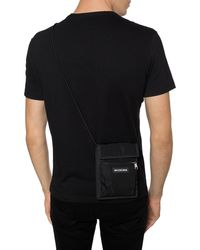 Balenciaga Explorer Canvas Messenger Bag - Black