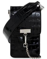 DSquared² 'chained 2' Shoulder Bag - Black