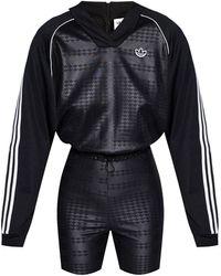 adidas Originals Jumpsuit With Logo Black
