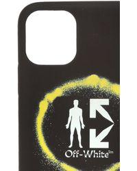 Off-White c/o Virgil Abloh Iphone 11 Pro Max Case - Black
