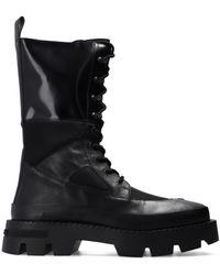 MISBHV 'laced Up Combat' Boots - Black
