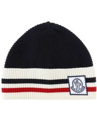 Moncler Gamme Bleu - Wool Logo Hat - Lyst
