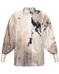 AllSaints 'oana' Patterned Shirt - Multicolor