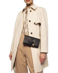 See By Chloé 'hana' Wallet With Chain Black