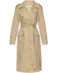 COACH - Trench Coat With Belt - Lyst