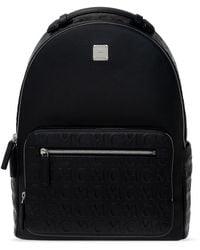 MCM 'stark' Backpack With Logo Black