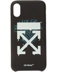 Off-White c/o Virgil Abloh Iphone Xr Case - Black