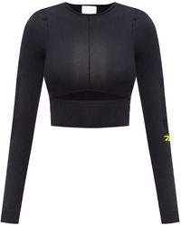 Reebok X Victoria Beckham Long Sleeve Top - Black