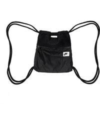 Nike Branded Gym Sack - Black