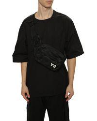 Y-3 Logo Belt Bag - Black