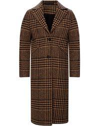 AllSaints 'jette' Tweed Coat Brown