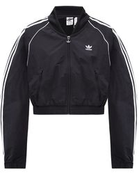 adidas Originals Branded Track Jacket Black