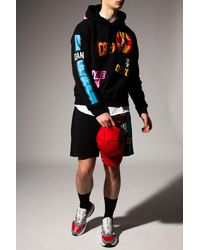 DSquared² Shorts With Logo Black