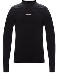 Jil Sander Long-sleeved T-shirt Black