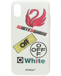 Off-White c/o Virgil Abloh Iphone Xs Max Case - White