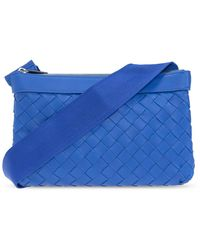 Bottega Veneta 'classic Hidrology' Shoulder Bag - Blue