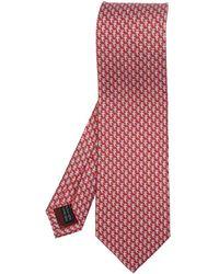 Ferragamo Silk Tie - Red