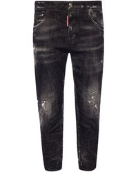 DSquared² 'cool Girl Cropped Jean' Jeans - Black