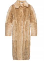 Stella McCartney Fur Coat - Natural