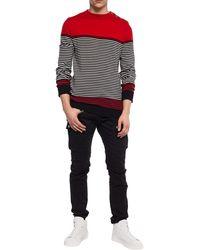 Balmain Striped Sweater Multicolor