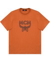 MCM Logo T-shirt - Brown