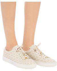 Michael Kors Keaton Lace Up Sneaker Vanilla - Natural