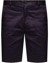 Samsøe & Samsøe Pleat-front Shorts - Blue