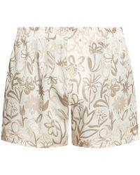 Jacquemus 'le Calecon' Shorts Cream - Natural