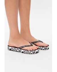 MICHAEL Michael Kors Platform Flip-flops - Black