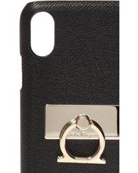 Ferragamo Iphone Xs Case Black