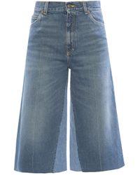 Gucci Culotte Jeans - Blue