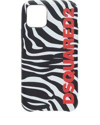 DSquared² Iphone 11 Pro Case Unisex Black