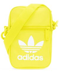 adidas Originals Shoulder Bag With Logo Yellow