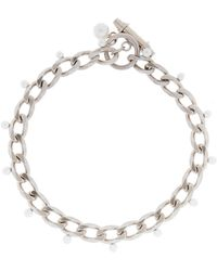 Givenchy - Choker With Pearls - Lyst