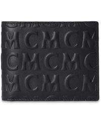 MCM Wallet With Logo Black
