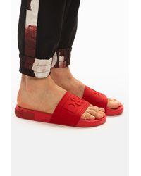 Dolce & Gabbana 'ciabatta' Slides Red