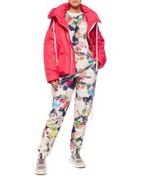 Khrisjoy Jacket With Detachable Sleeves Red