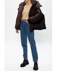 Fendi Reversible Down Jacket - Black