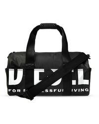 DIESEL 'f-bold Duffle Ii' Duffle Bag Black