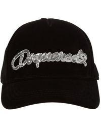 DSquared² Branded Baseball Cap - Metallic