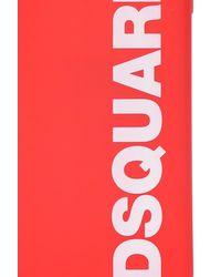 DSquared² Iphone 11 Pro Max Case Unisex Red